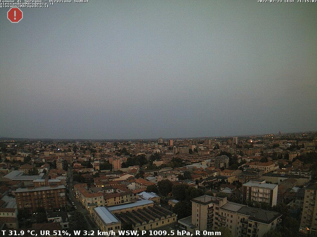 Webcam Seregno MB vista SE